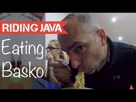 Eating at Bakso Malang Berkah in Yogyakarta   Indonesian Food