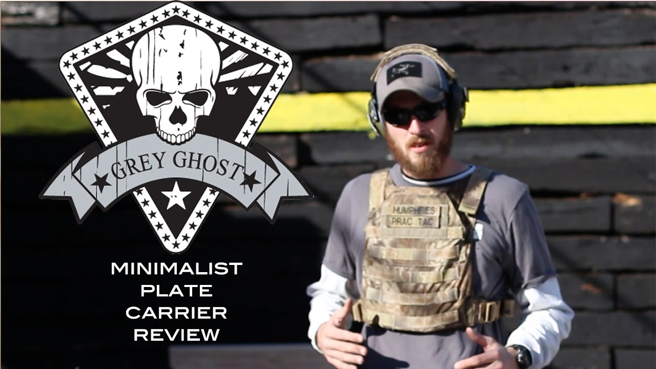 Grey Ghost Gear MPC (Minimalist Plate Carrier) Review - YouTube