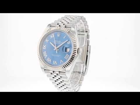ROLEX Pre Owned Watch Datejust Ref 126334