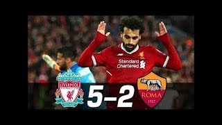 LIVERPOOL vs ROMA 5-2 - All Goals & Extended Highlights 24/04/2018