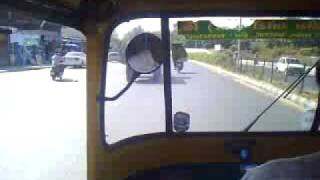 enroute to Taj Palace Ahmedabad on board of an Auto