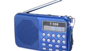 Мини приемник MP3 проигрыватель T508