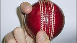 How To Bowl Slower Balls (Cricket) - (4 Different Grips)