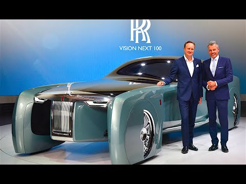 Rolls-Royce Vision World Premiere Review Rolls Royce Vision