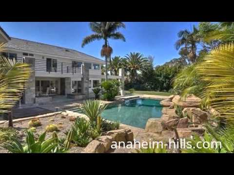 Luxury homes for sale in anaheim hills ca youtube for Luxury houses for sale in california