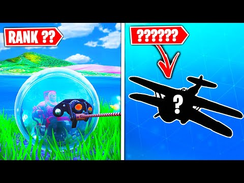 Top 5 Fortnite Vehicles RANKED WORST TO BEST!
