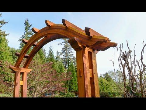 Arched Pergola, Building Time Lapse