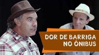 DOR DE BARRIGA NO ÔNIBUS