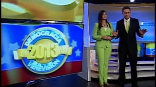 """Venevisión pone en marcha el operativo """"Democracia 2013 - Elecciones Municipales"""""""
