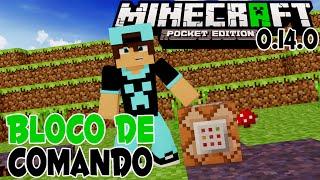 Mod do Bloco de Comandos!! Minecraft PE 0.14.0 | Command Block Mod