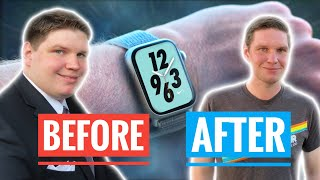 The 100 pound Apple Watch Weight Loss Transformation