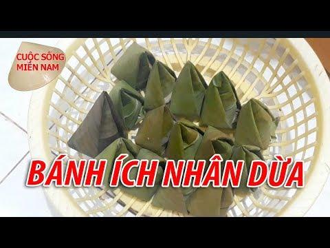 LÀM BÁNH ÍCH NHÂN DỪA MIỀN TÂY   Nam Việt   VietNam Travel Food
