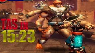 [TAS] Mortal Kombat Shaolin Monks KUNG LAO | IN 15:23 (PS2)