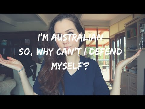 SELF-DEFENSE DOESN'T EXIST IN AUSTRALIA