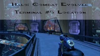 Halo MCC: CE - Terminal #8 Location