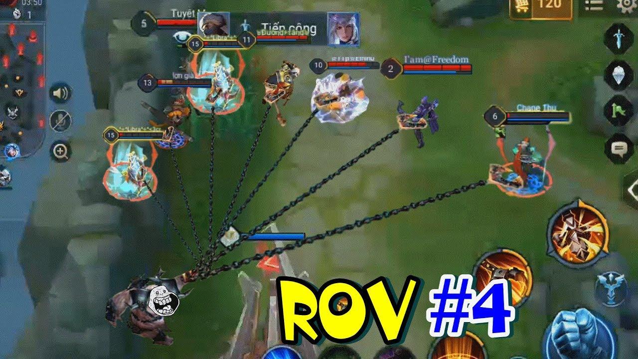 ฉากฮาๆใน ROV #4 ยอนตามหลอกหลอน