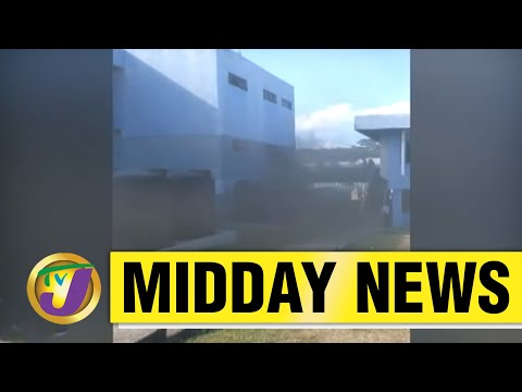 Crime Worries in St. James, Jamaica | Fire at Constant Spring Tax Office | TVJ Midday - June 7 2021