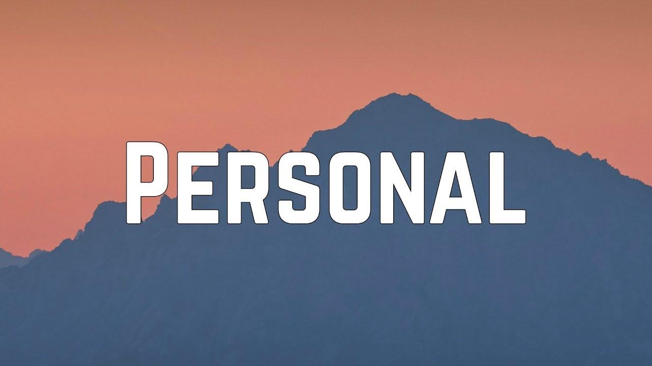 Download HRVY - Personal (Lyrics)