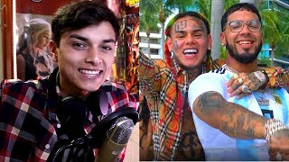 BEBE - 6ix9ine Ft. Anuel AA (Prod. By Ronny J) (Official Music Video) Reaccion