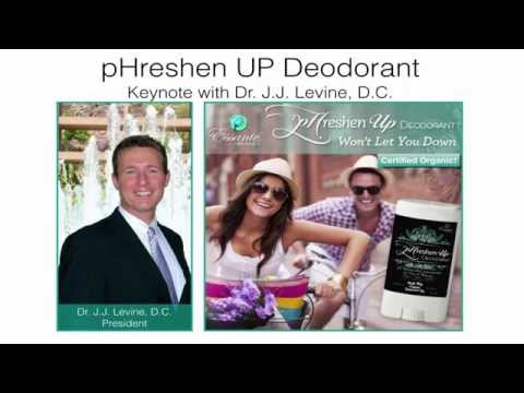 pHreshen UP   Certified Organic Deodorant From Essant Organics