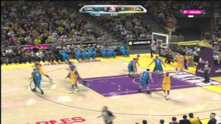 NBA 2k10 Lakers vs Magic 1st quarter Real GamePlay HOF Xbox 360 **Actual Footage**
