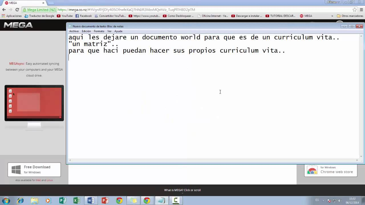 Como hacer un CURRICULUM VITA CHILENO.. - YouTube