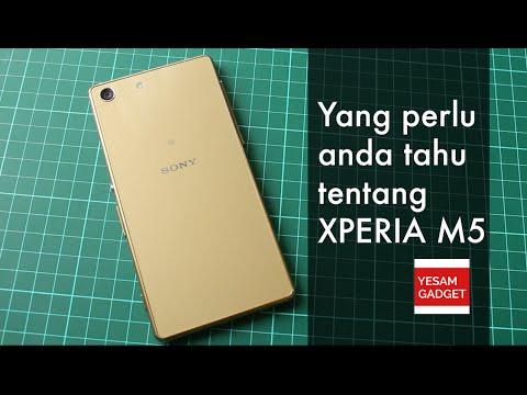 Yang perlu anda tahu tentang Xperia M5