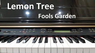 Hướng dẫn LEMON TREE - Fools Garden | Piano cover/Solo | Đinh Công Tú