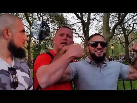 TOMMY ROBINSON CHALLENGED TO FIGHT | BRUM CITY TO SPEAKERS CORNER | MUHAMMAD TAWHEED