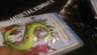 Распаковка и сравнение двух изданий Шрека BD дисков