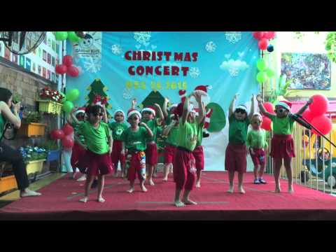 Rockin' around the Christmas tree  Pre school 1 Global Kids Kindergarten