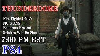 THUNDERDOME FREE ROAM EVENT HAPPENING NOW