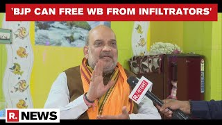 Amit Shah Speaks On Cooch Behar Violence, 'growing Infiltration' In WB; Slams Mamata Govt