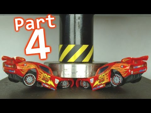 Thumbnail: Toy Car Crusher - Part 4 || Lightning McQueen & Cars Special