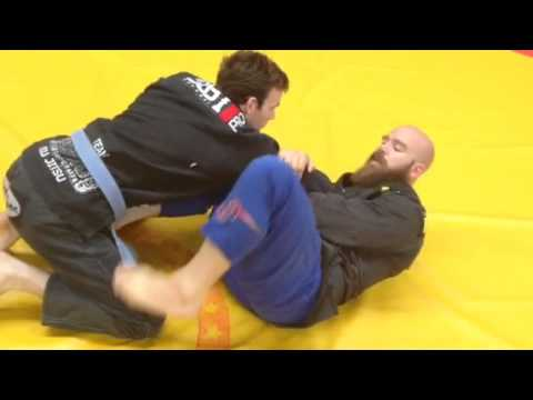 How to deal with old school guard passing..
