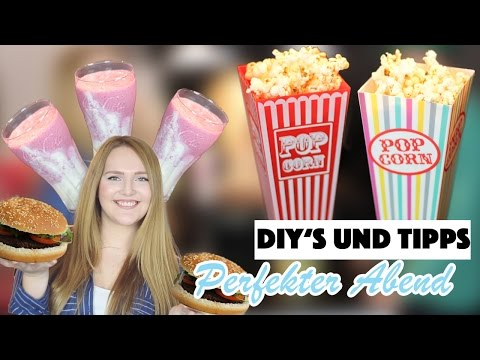 DIY IDEEN + TIPPS für den PERFEKTEN ABEND ✿ | Deutsch 2016 | Annaxo