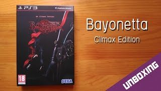 Bayonetta Climax Edition [ Unboxing ] Playstation 3