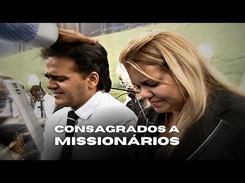 Apóstolo Valdemiro Santiago consagra Repórter Mundial a missionário