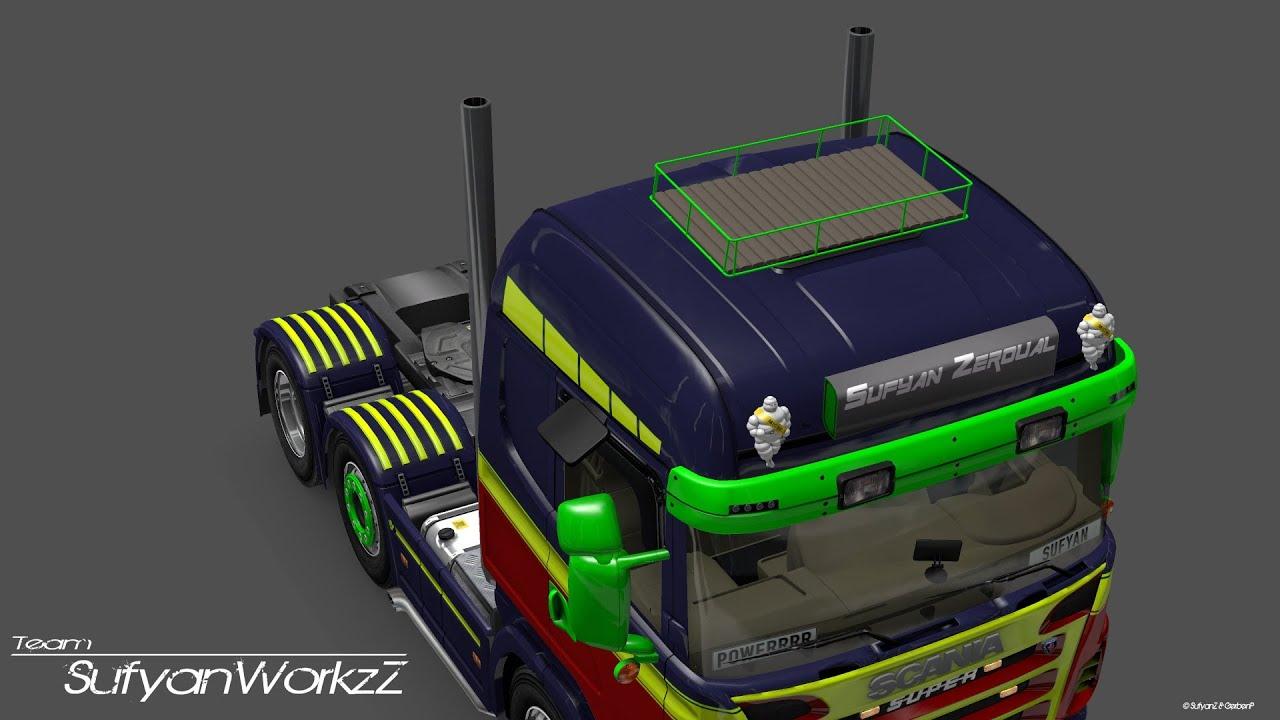 Euro Truck Simulator 2 Scania Editing Youtube