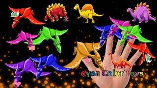 Finger Family rhymes Song Dinosaur Finger E8   the finger family finger family collection for
