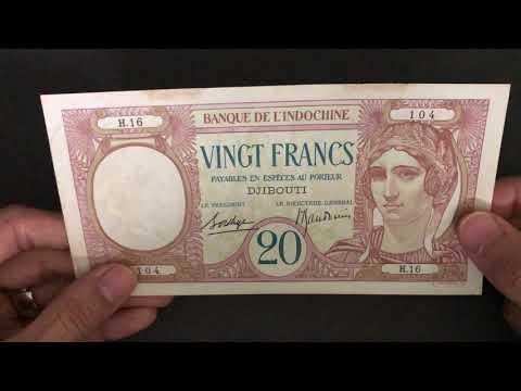 4K | Afars & Issas (French Djibouti) banknotes