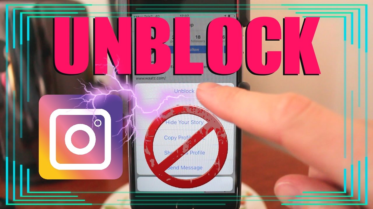 how to unblock someone on iphone how to unblock on instagram on iphone amp android 19187