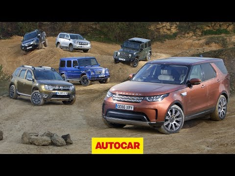 What's the best 4x4? | New Land Rover Discovery vs Jeep, Toyota, Isuzu, Mercedes, Dacia | Autocar