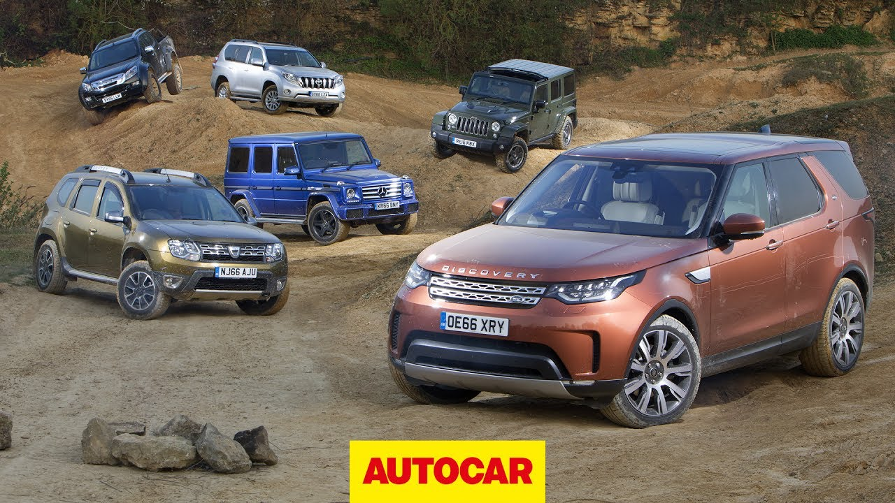 hight resolution of new land rover discovery vs jeep toyota isuzu mercedes dacia autocar