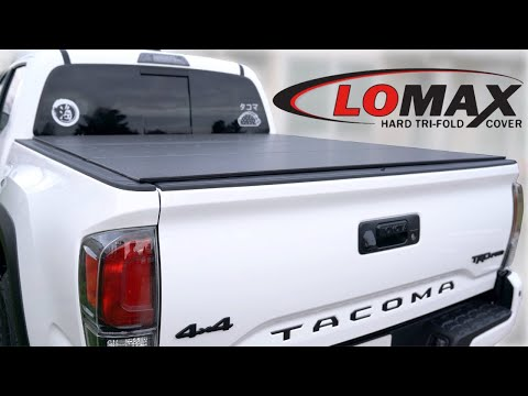 LOMAX Tonneau Cover Toyota Tacoma Install & Review