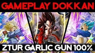 Le gros up de la Lignée de Vegeta ! Garlic Gun ZTUR 100%