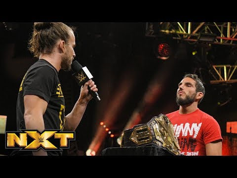 Johnny Gargano and Adam Cole come face-to-face: WWE NXT, March 27, 2019