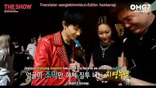 [ENG SUB] 140702 Behind The Show - GOT7 Cut (Special Perf of My Ear's Candy - JB)
