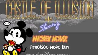 Jamesman Plays - Castle of Illusion (Practice Mode Run)