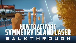 The Witness - Symmetry Island Puzzle Solution (Laser Activation) Guide